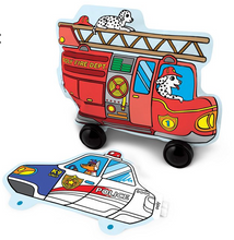 Magical 3D Inflatable Rescue Vehicles