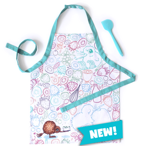 Kid's Kuwi Apron and Spatula