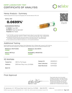 1000mg@65% Hemp Vape Cartridge - WiFi