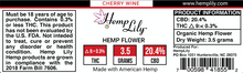 Load image into Gallery viewer, 3.5G Hemp Flower Jar - Make your own