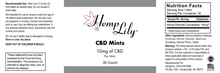 Load image into Gallery viewer, 300mg CBD Mints - candy meltaway