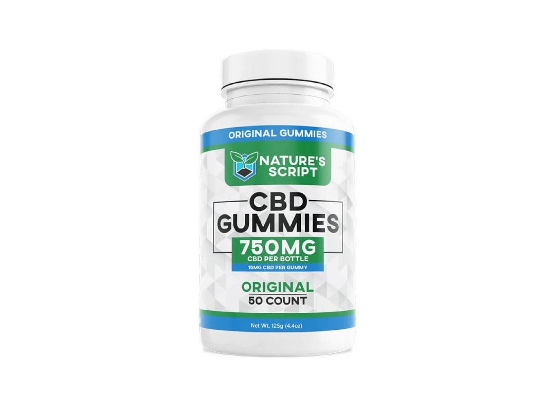 750mg CBD Gummies