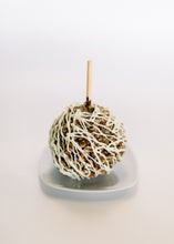 Dark Chocolate Dipped Caramel Apple {choose your toppings}