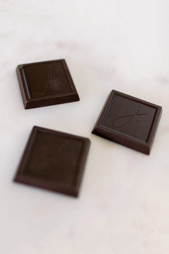Bite Size Dark Chocolate Square