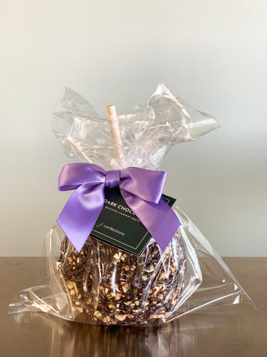 Caramel Apple - Dark Chocolate with Almonds