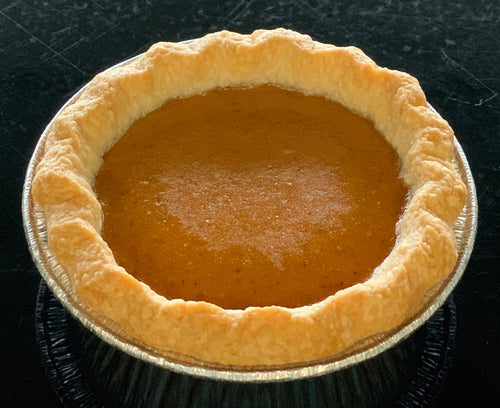 J.'s Mini Old Fashioned Pumpkin Pie