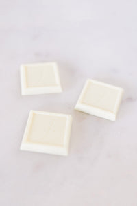 Bite Size White Chocolate Square