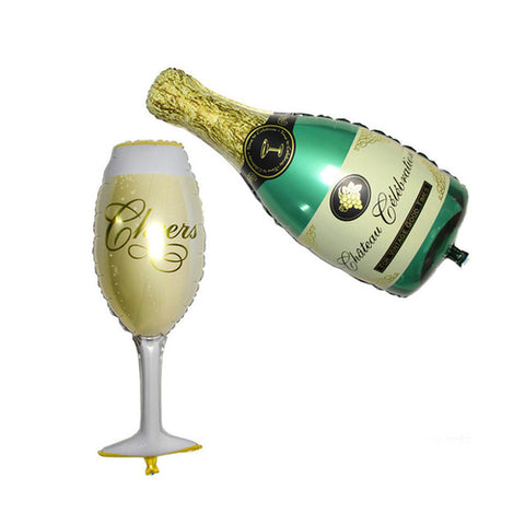Celebratory Toast Balloon Set
