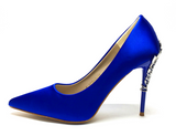 Blooming Heels Blue Pumps