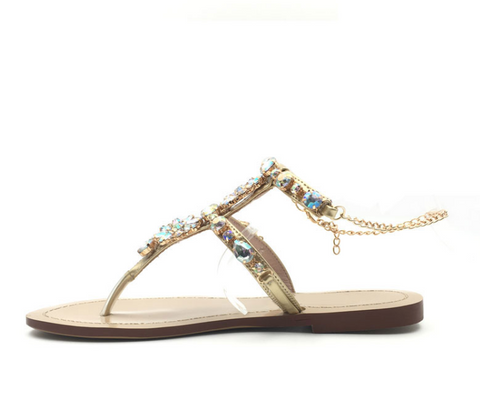 Sparkly Feet Gladiator Sandals