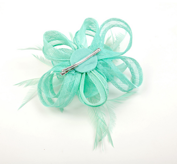 Freedom Blue Feather Fascinator