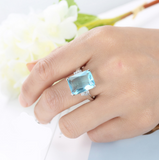 Royal Wedding Something Blue Fashion Ring