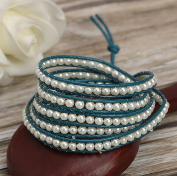 Deep Sea Wrap Bracelet