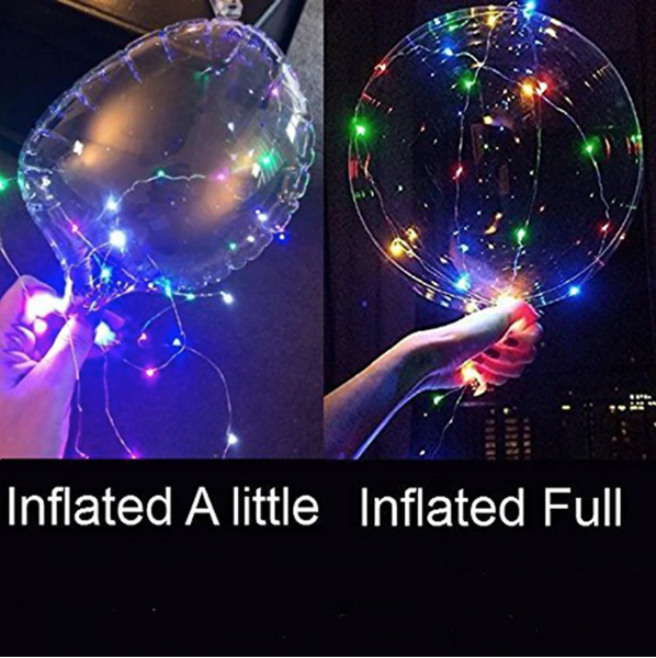 Twinkling LED Party Balloons, Photo Clip String Lights, Star String Lights