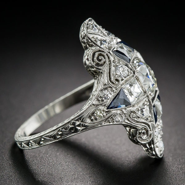 Vintage Silver Fashion Ring