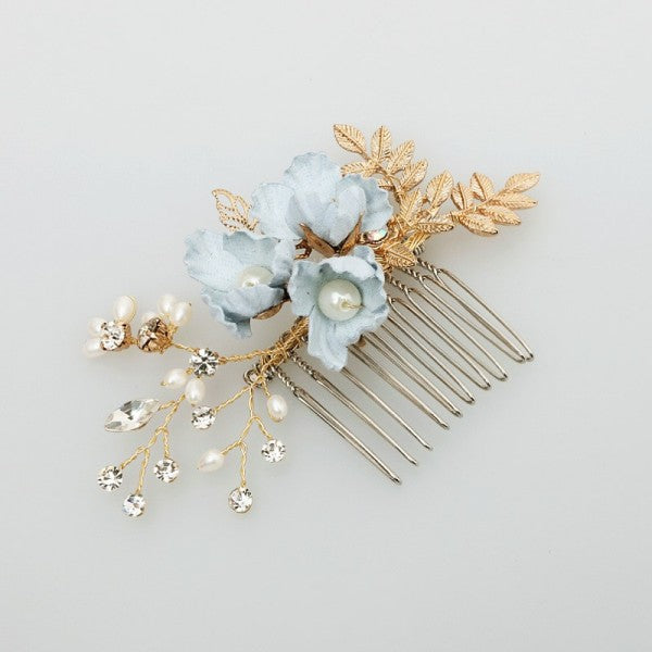 Natural Boho Flower Hair Pins and Combs