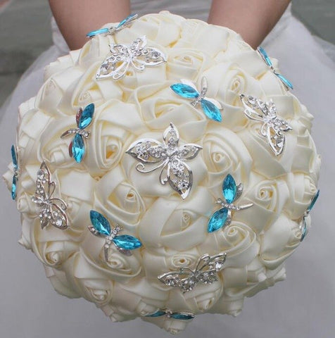 Ivory Bloom Bridal Bouquet