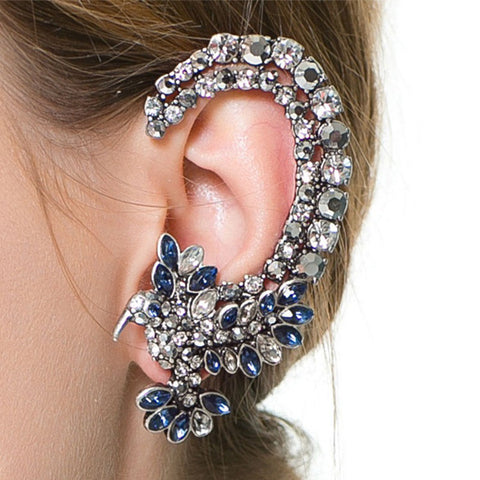 Unique Rhinestone Cuff Earring
