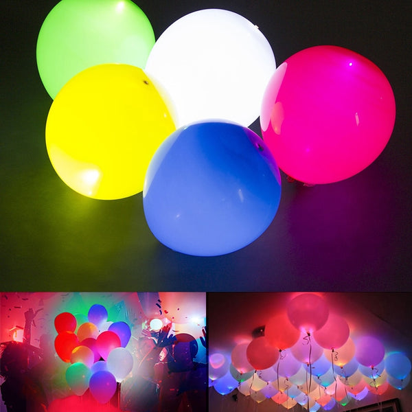 Luminous Light-Up LED Balloons