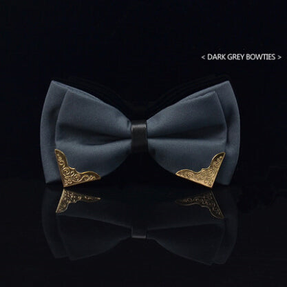 Gentlemen's Navy Blue Fashion Bow Tie