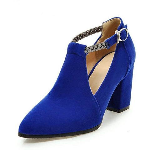 Hip 'n' Blue Booties