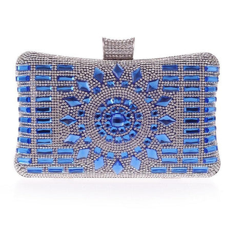 Luxe Adornment Clutch Purse