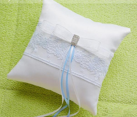 Lacey Love Wedding Ring Pillow