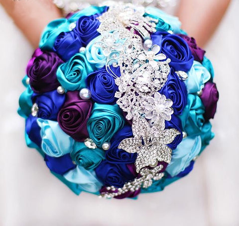 Romantic Depth Bridal Bouquet