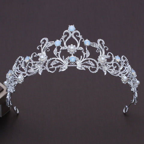 Silver and Pearls Tiara