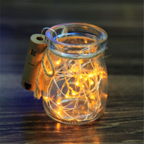 LED Bottle Cork Twinkle Lights