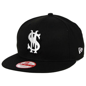 "Savemoney ""Royal Script"" Black New Era Snapback Cap"