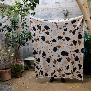 Terrazzo Throw in Light