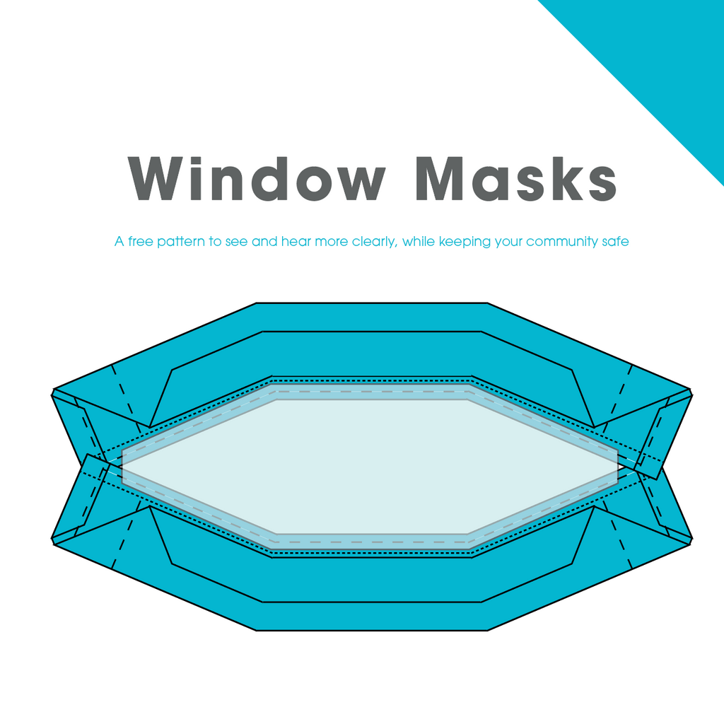 Window Mask Pattern - PDF Download