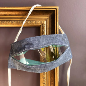 Window Mask - Denim Light