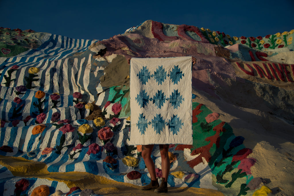 Indigo Mountain Quilt