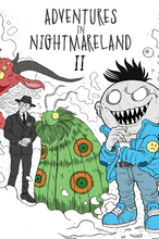 Adventures In Nightmareland 2 Coloring Book