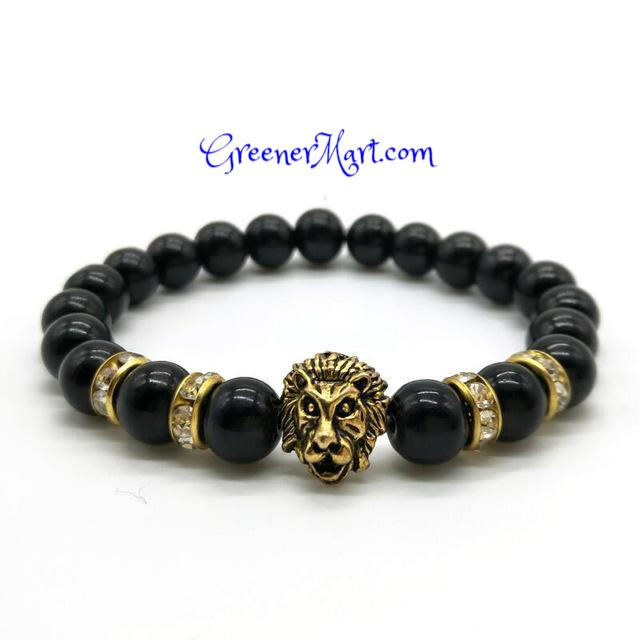 FREE Lion Head Bracelet - GreenerMart