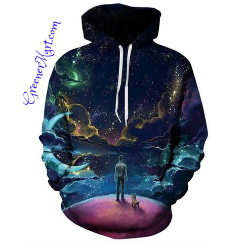 """Lost In Magic"" Hoodie - GreenerMart"