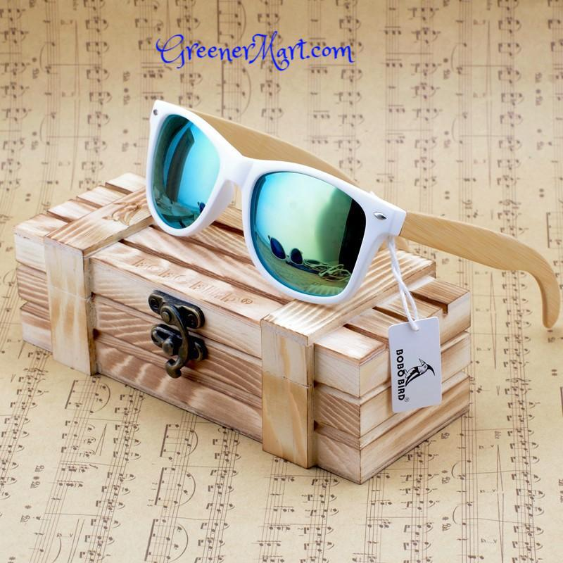Wood Polarized Sunglasses - GreenerMart