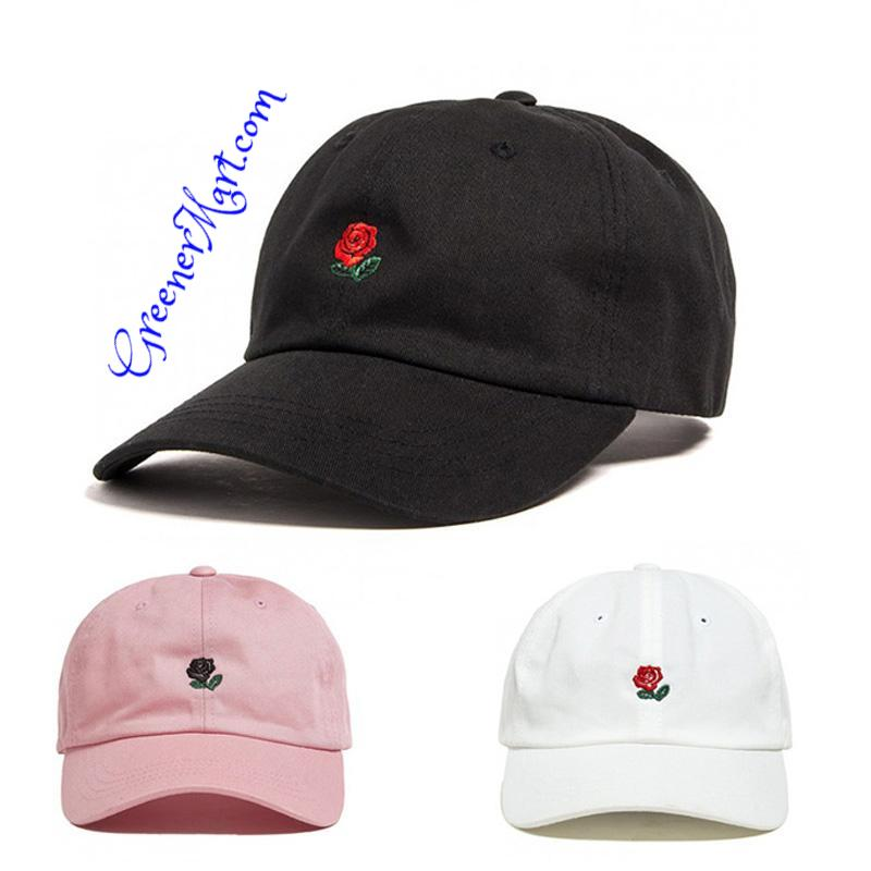 """Rose"" Hat - GreenerMart"