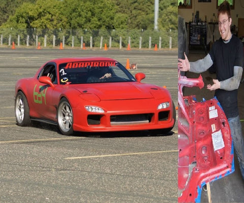 1993 Mazda RX7 with owner Shawn Christenson