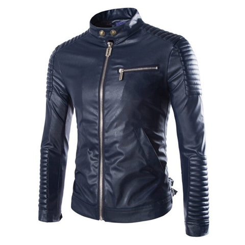 The Dillon Leather Motorcycle Jacket