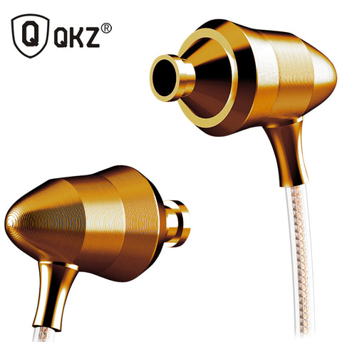 QKZ-DM5 Stereo BASS Metal in-Ear Earphone with HiFi Adaptive Sound
