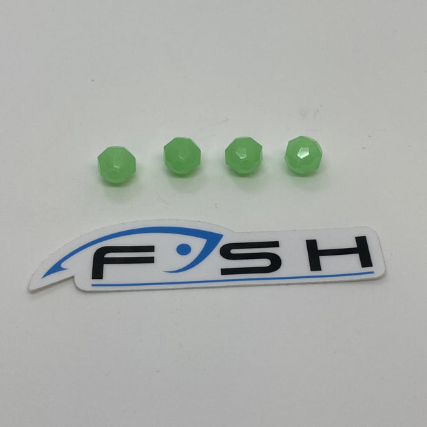 12mm Glow Beads (Made in USA)