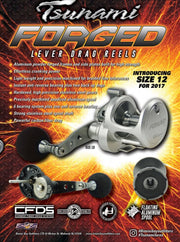 Tsunami FORGED Lever Drag Reel