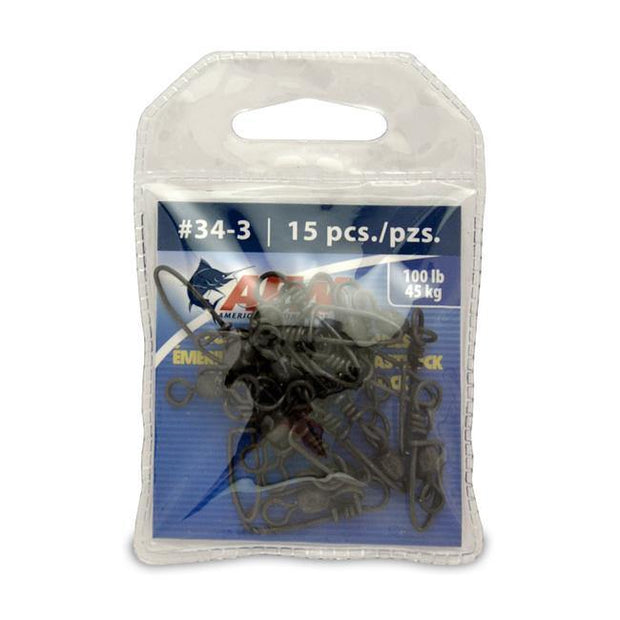 AFW Coastlock Snap Swivels - Fish & Tackle