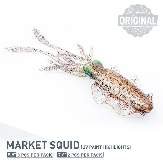 Chase Baits - The Ultimate Squid 150 (5.9in) - Fish & Tackle