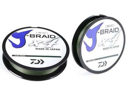 Daiwa J-Braid X4 Solid Braided Line