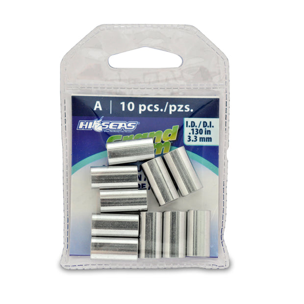 Hi-Seas Grand Slam Aluminum Crimps