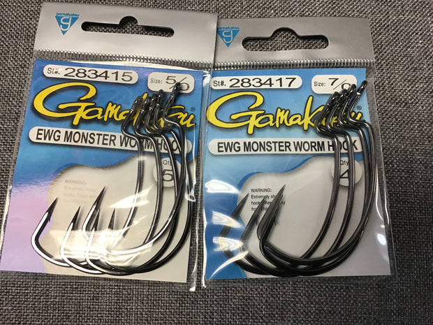Gamakatsu EWG Monster Worm Hook